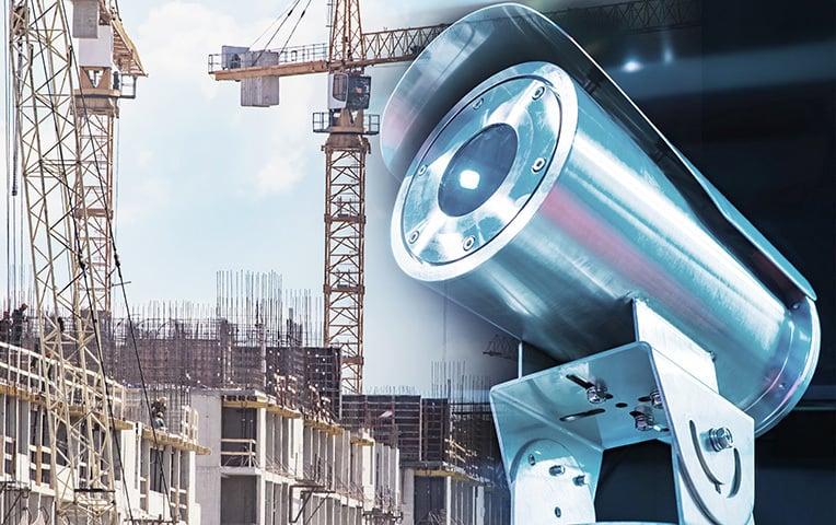 Baustellenüberwachung mit einer Videokamera