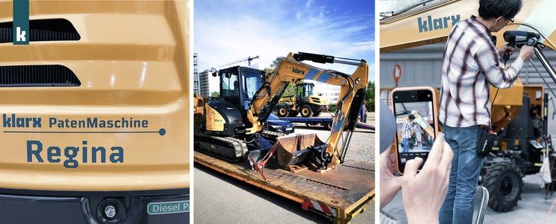 Das neue Design der klarx-Maschinen im Logistikzentrum