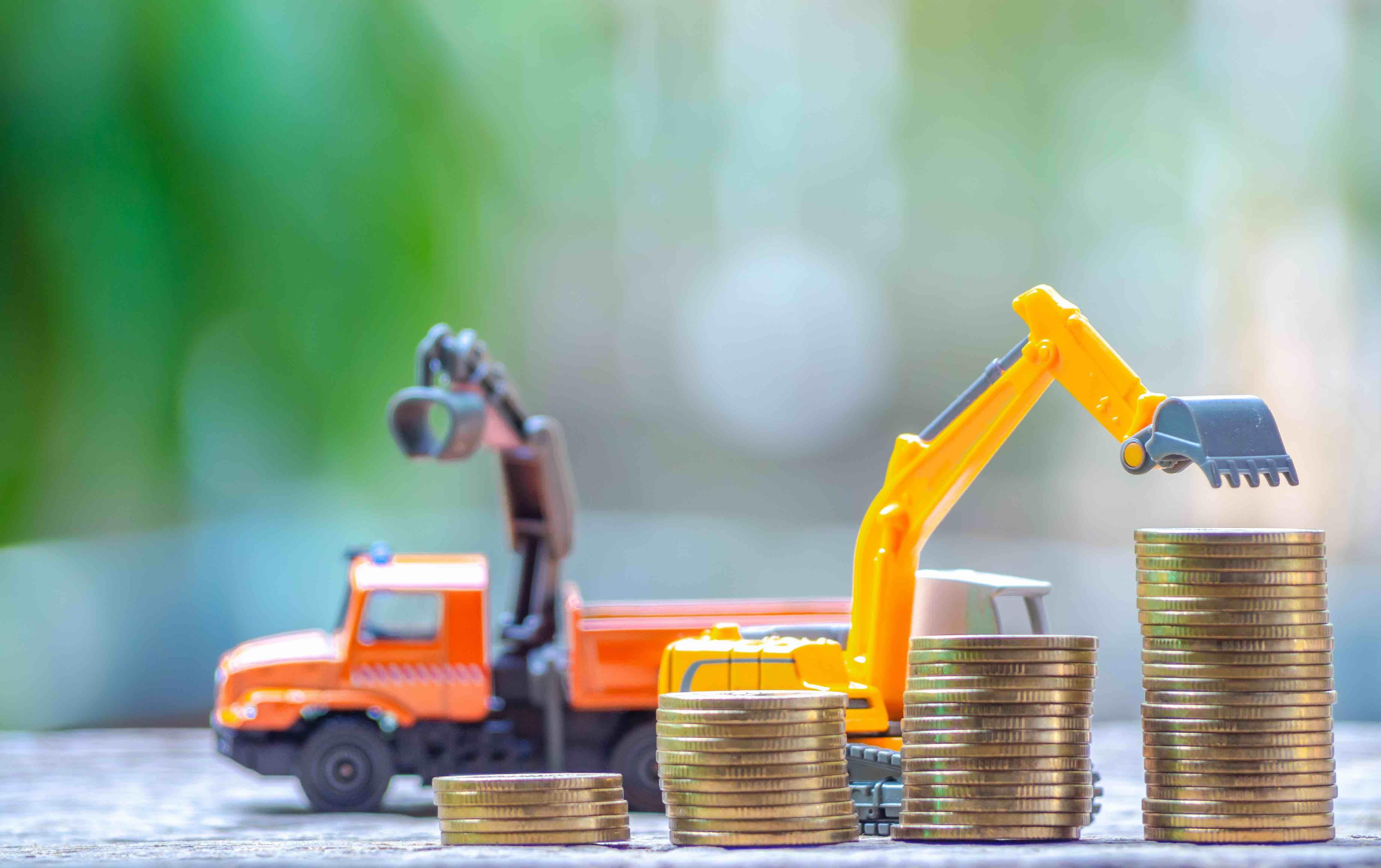 Baumaschinen mieten, kaufen oder leasen?